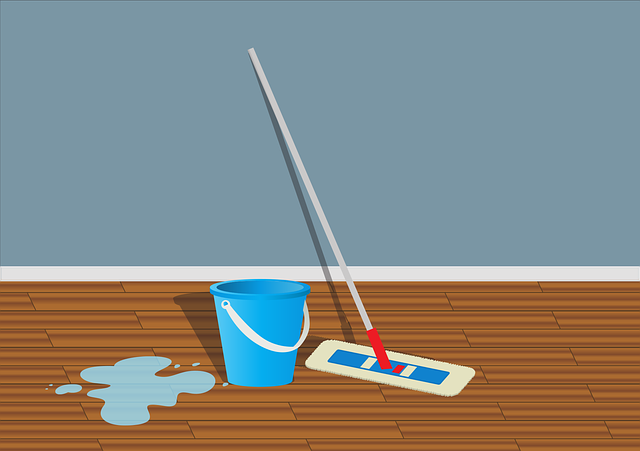 mokrá podlaha