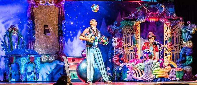 žonglérova show