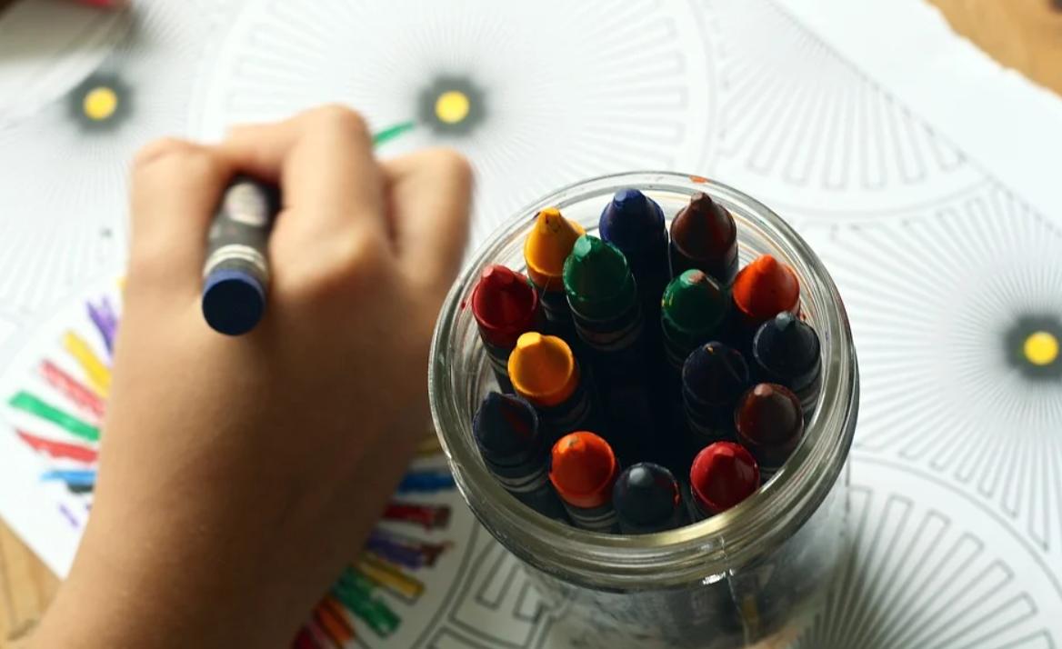 kreslící ruka