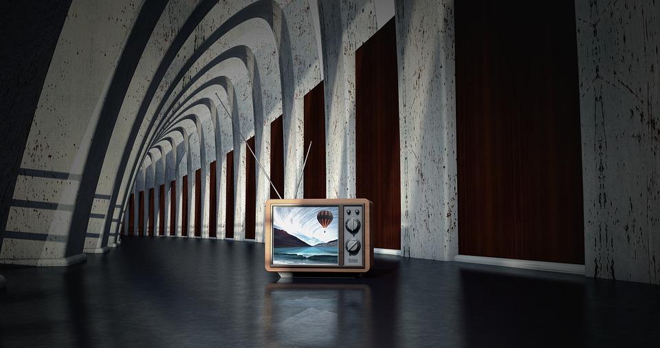 televize v budově